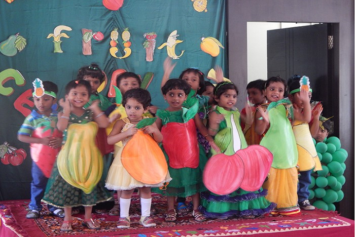 St John s English Medium High School- Fruit Day Celebrations