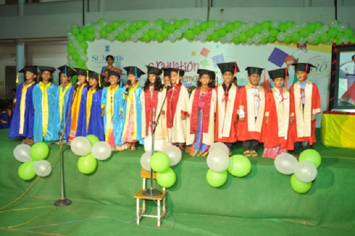 St John s English Medium High School-Graduation Day Celebrations