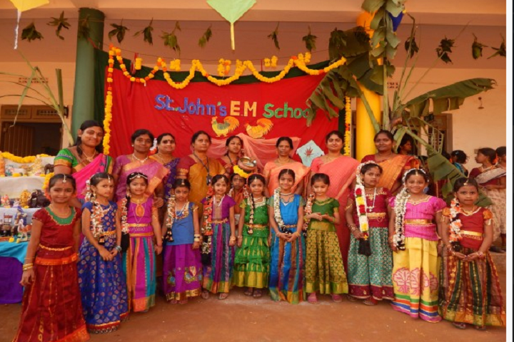 St John s English Medium High School- Sankranthi Celebrations