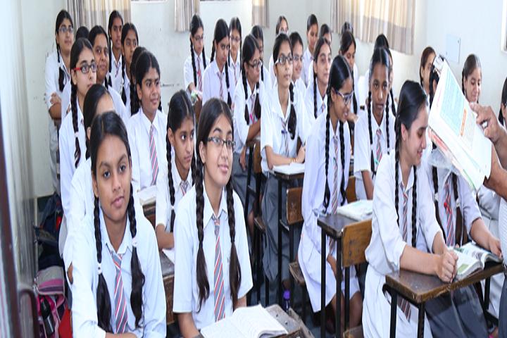 Krishna Model Secondary School-Classroom