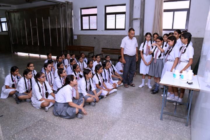 Krishna Model Secondary School-Lab