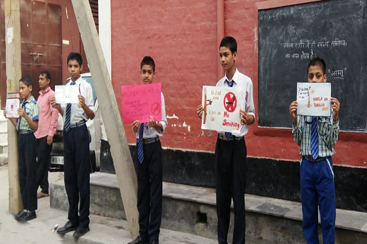 Krishna Model Secondary School-Science Exhibition