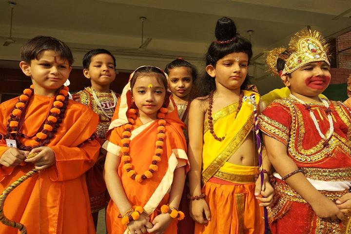 Kulachi Hansraj Model School-Fancy Dress