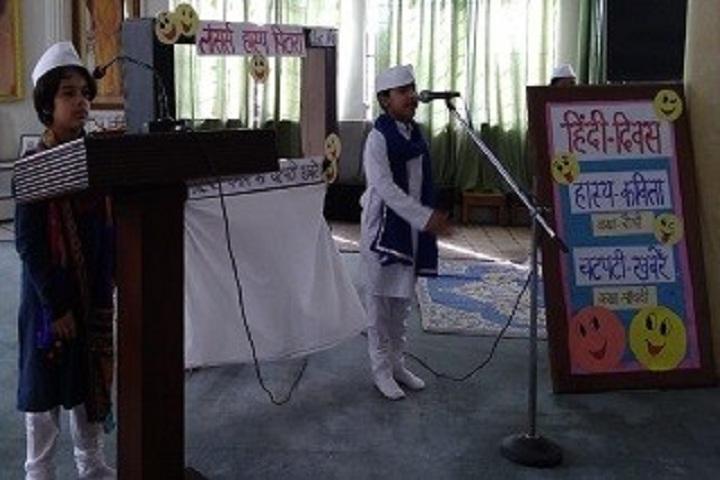 Lancers Convent Senior Secondary School-Hindi Divas