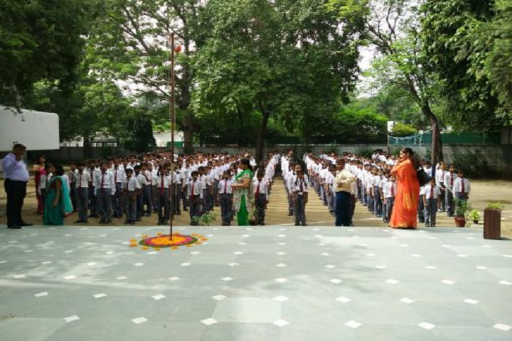 Lions Vidya Mandir Secondary School-Assembly Ground