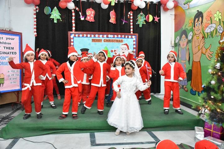 Little Flowers Public Senior Secondary School, Shahdara-Christmas Celebrations