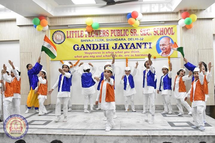 Little Flowers Public Senior Secondary School-Gandhi Jayanthi