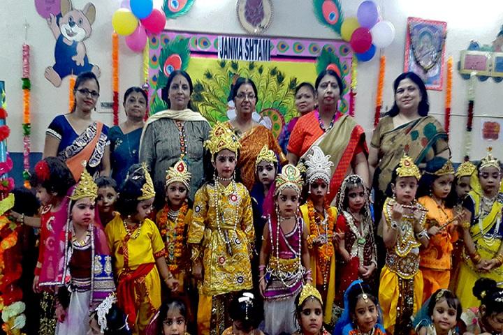 Little Flowers Public Senior Secondary School-Janmastami Celebrations