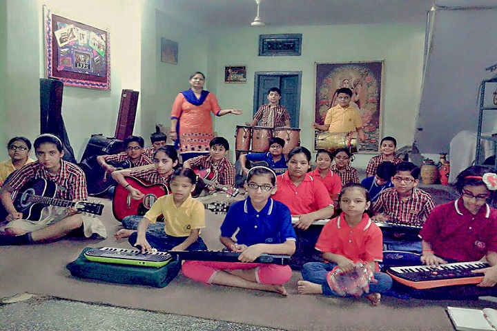Little Flowers Public Senior Secondary School, Shahdara-Music Room