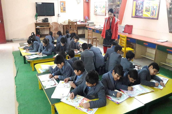 Little Flowers International School- Activity room
