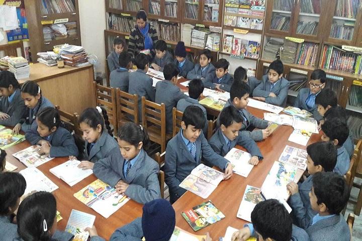Little Flowers International School- Library