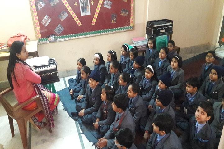 Little Flowers International School- Music room