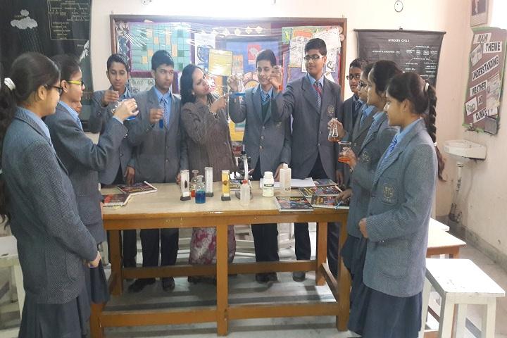 Little Flowers International School- Science Lab
