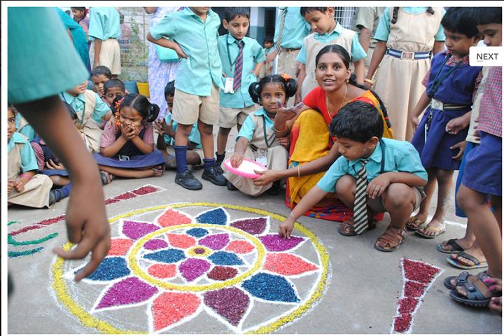 St Josephs High School-Sankranthi Celebrations