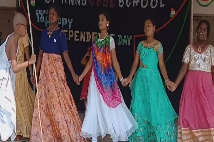 St Anns English Medium High School-Dance