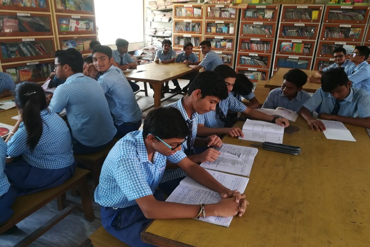 M R Vivekananda Model School-Library