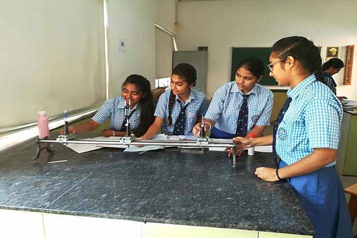 M R Vivekananda Model School-Physics lab