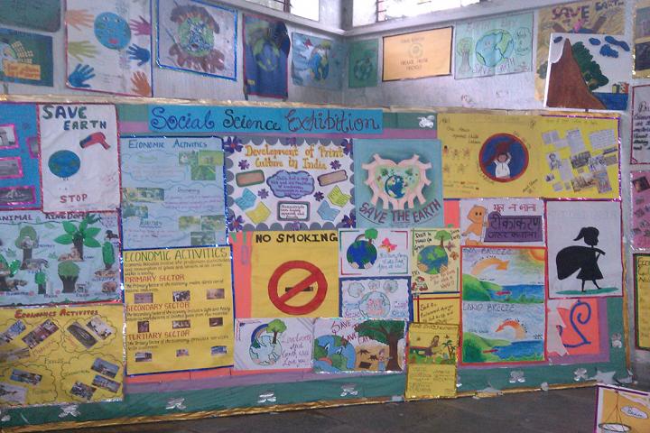 M R Vivekananda Model School-Science-Exhibition
