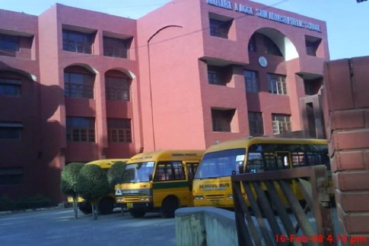Maharaja Aggarsain Adarsh Public School- School campus