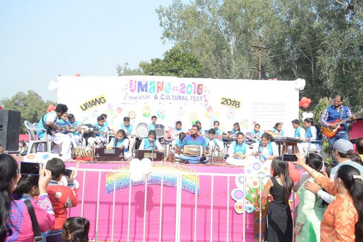 Maharaja Aggarsain Adarsh Public School-Cultural-Fest