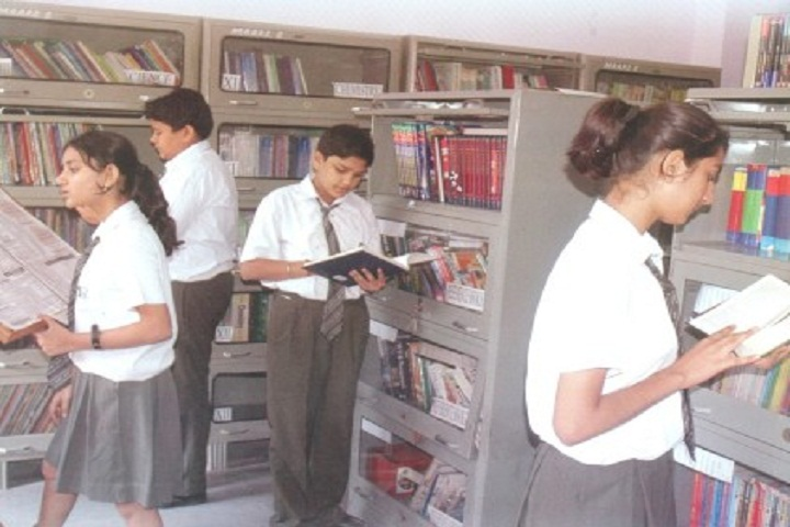 Maharaja Aggarsain Adarsh Public School-Library