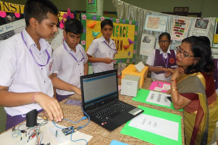 Maharaja Aggarsain Adarsh Public School-Science-Exhibition
