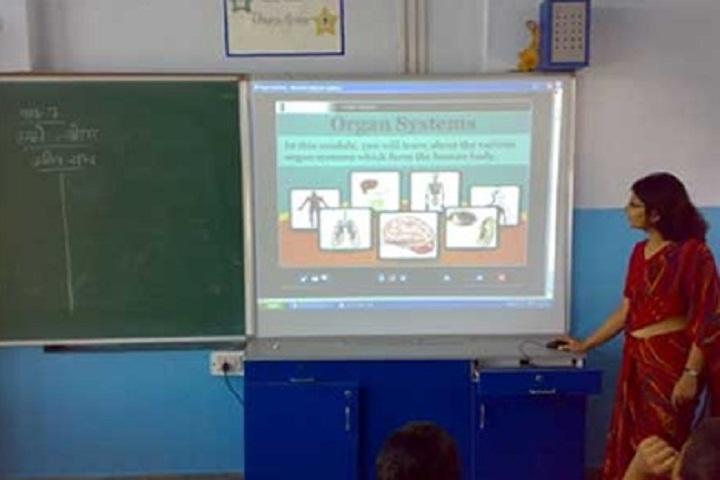 Maharaja Aggarsain Adarsh Public School-Smart-Class