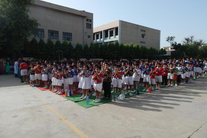 Maharaja Agrasen Model School-Assembly