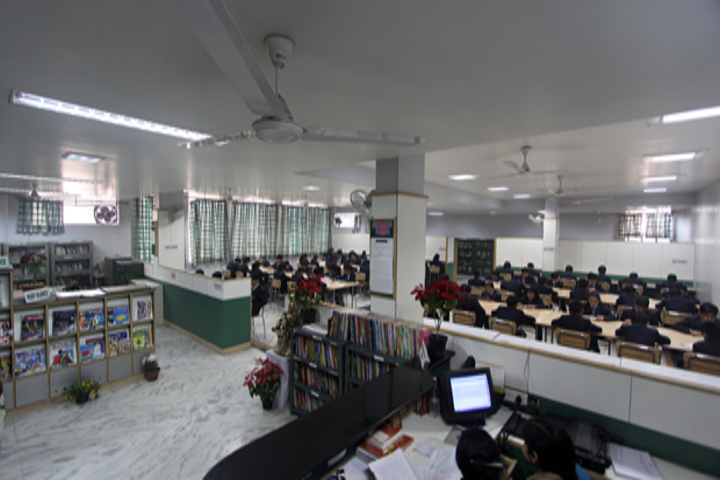 Maharaja Agrasen Model School-Library