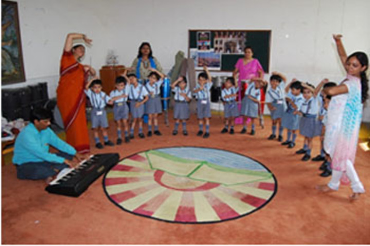 Maharaja Agrasen Model School-Music And Dance Room