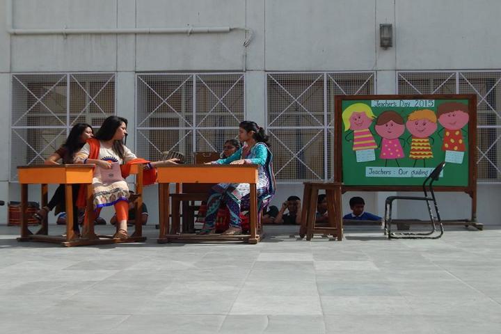Maharaja Agrasen Model School-Teachers Day Celebrations