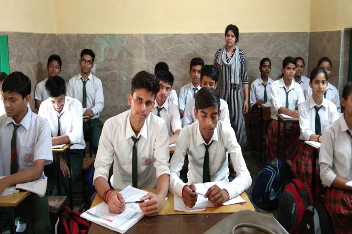 Maharishi Dayanand Model School-Classroom