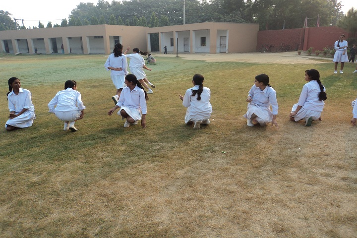 Mata Kasturi Devi Public School -Sports playing by girls