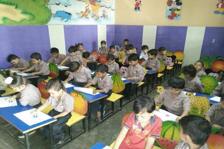 Mata Kasturi Devi Public School-Classroom