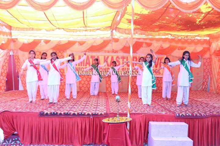 Mata Kasturi Devi Public School-Events programme