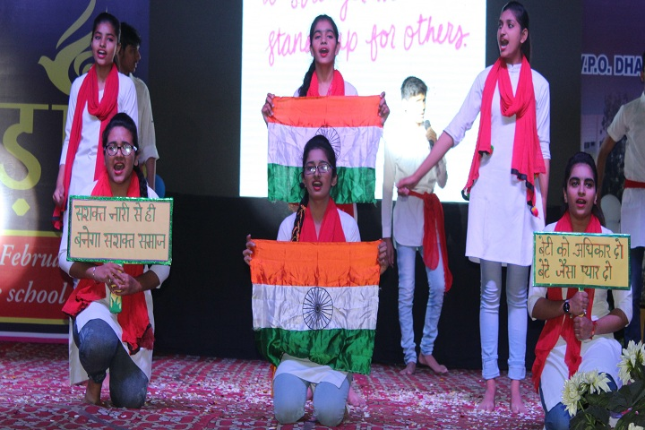 Mata Daan Kaur Public School-Events independance day