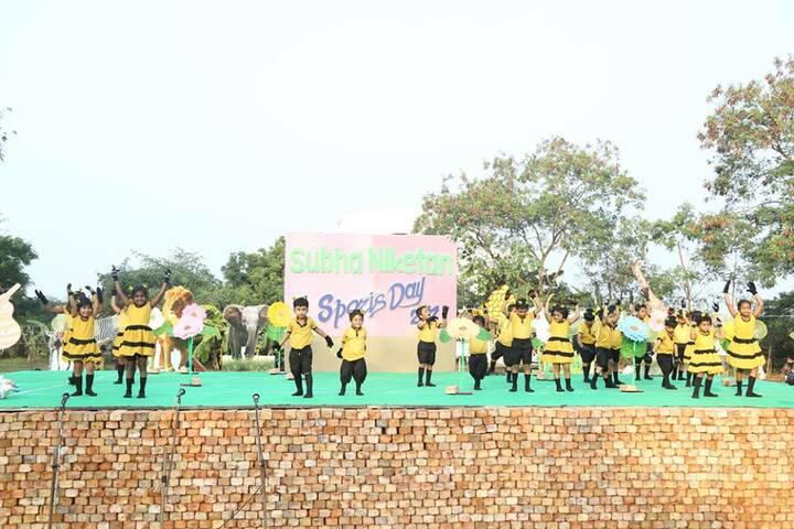 Subha Niketan English Medium School-Sports Day Celebration`