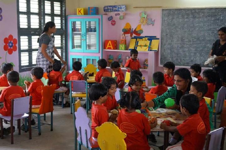 Subha Niketan English Medium School-Kids Activity Room
