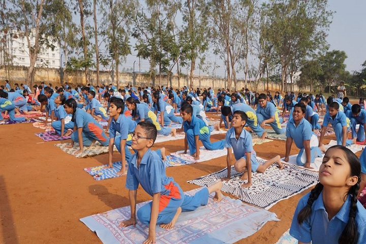 Subha Niketan English Medium School-Yoga