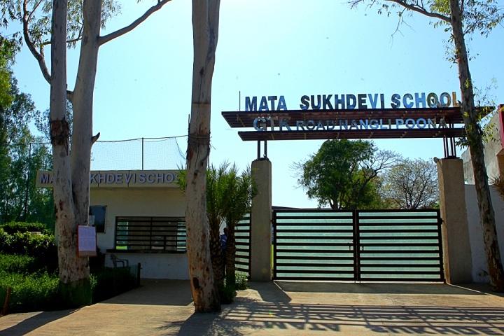Mata Sukhdevi Public School-Campus-View entrance