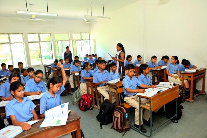 Mata Sukhdevi Public School-Classroom