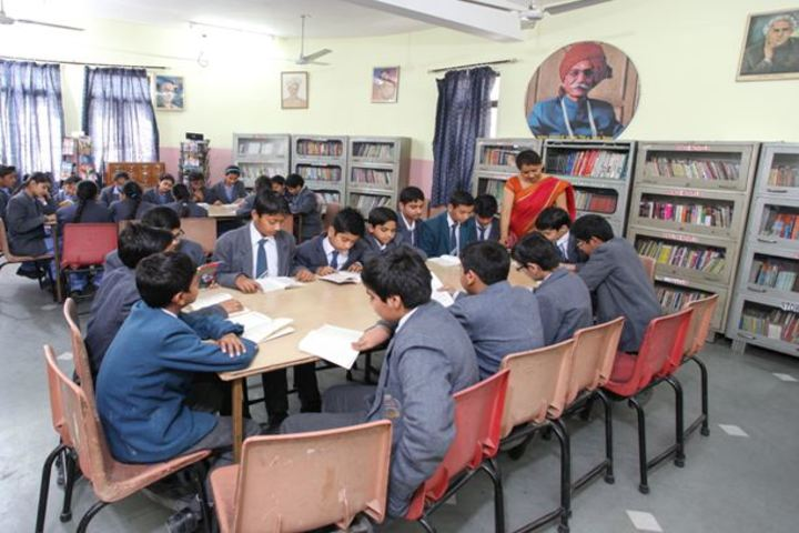 MDH International School-Library