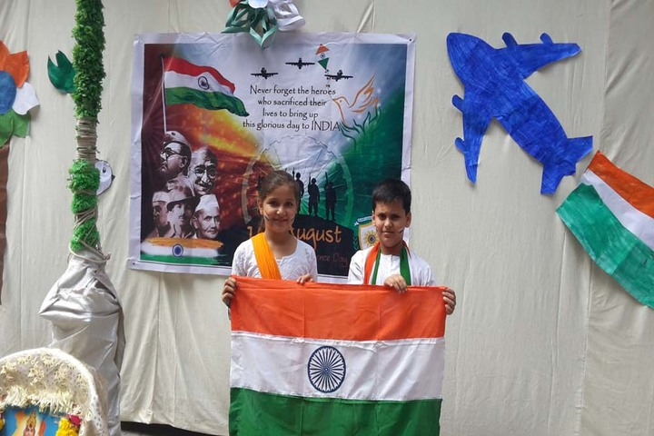 Sunflower School-Independence Day Celebrations