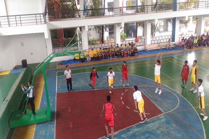Sunflower School-Inter House Basket Ball Competition