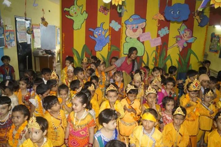 Modern International School-Janmastami Celebration