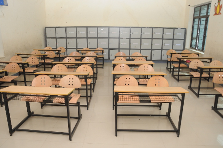 Swarnandhra International School-Classroom