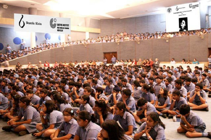 Modern School-Auditorium