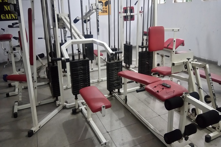 Modern School-Hostel Gym