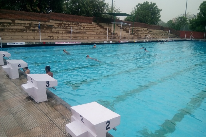 Modern School-Swimming Pool