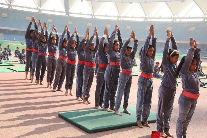 MotherS Global School-Yoga